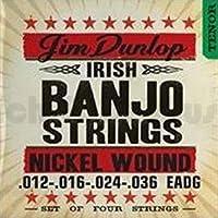 Dunlop DJN1236 Banjo Strings Nickel Irish Tenor .012?.036 4 Strings/Set [並行輸入品]