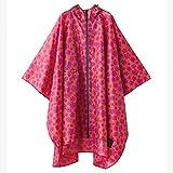 w.p.c レインコート キウ ポンチョ ハナ ピンク フリーサイズ K29-043