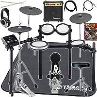 [セット品] 電子ドラム6点セット (YAMAHA DTX562K、スティック、ヘッドフォン、アンプ、ドラムマット、教則DVD)