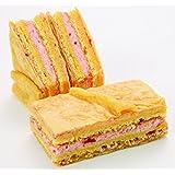 伊豆の苺を使ったミニケーキ シューホッペ (10個入) (御菓子処 雅心苑) イチゴ いちご クリーム ふわふわ ミニケーキ