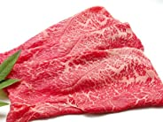 厳選 【 黒毛 和牛 雌 牛限定 】 ギフト 用 あっさり 赤身 モモ すき焼き 肉 1Kg 【 木箱詰め 】