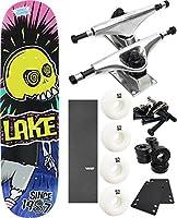 """湖スケートボードLocoスティックスケートボード8"""" x 31.5"""" Complete Skateboard–7項目のバンドル"""
