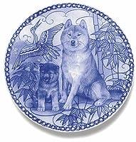 デンマーク製 ドッグ・プレート (犬の絵皿) 直輸入! Shiba Inu / 柴犬
