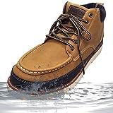 「防水」 Truck Club(トラッククラブ) ブーツ メンズ レインブーツ ワークブーツ ショートブーツ チャッカブーツ T60460-ye-250