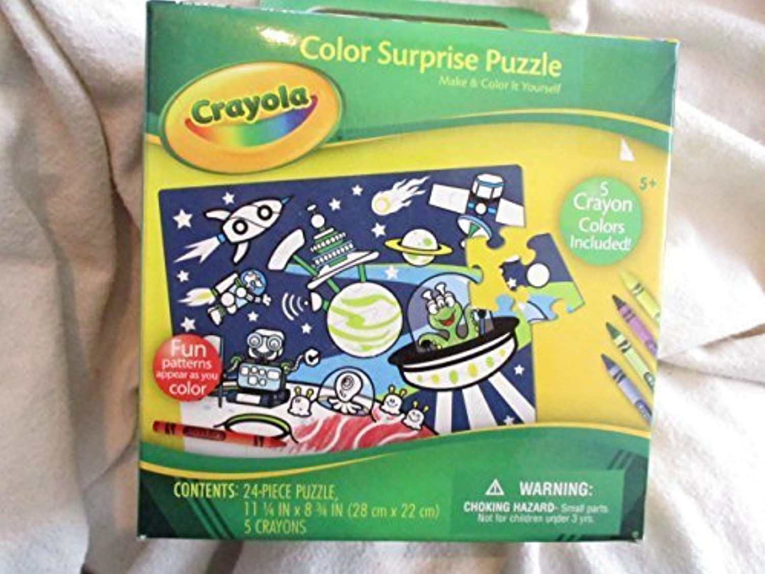 Crayola Color Sur ; Priseパズルwith 5クレヨン