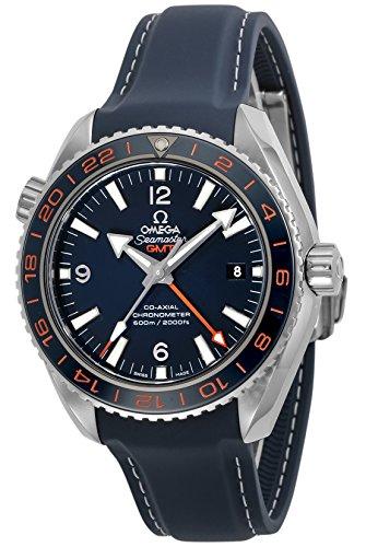 [オメガ]OMEGA 腕時計 Seamaster Planet Ocean ブルー文字盤 コーアクシャル自動巻き 232.32.44.22.03.001 メンズ 【並行輸入品】