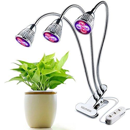 クリップ式 植物育成LEDライト