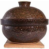 長谷園 土鍋 いぶしぎん 大 直径:260mm 燻製土鍋 伊賀焼窯元