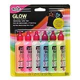tulip 3D染料 ガラス・布・木・などあらゆる素材にペイント 6色入り GLOW