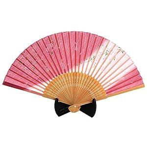 シルク扇子 さくらとうさぎ ピンク 504-730の関連商品4