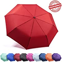 Frostfire Family, Traveler, Business Gifts, Parent, Students Umbrella, A3 Red, Red