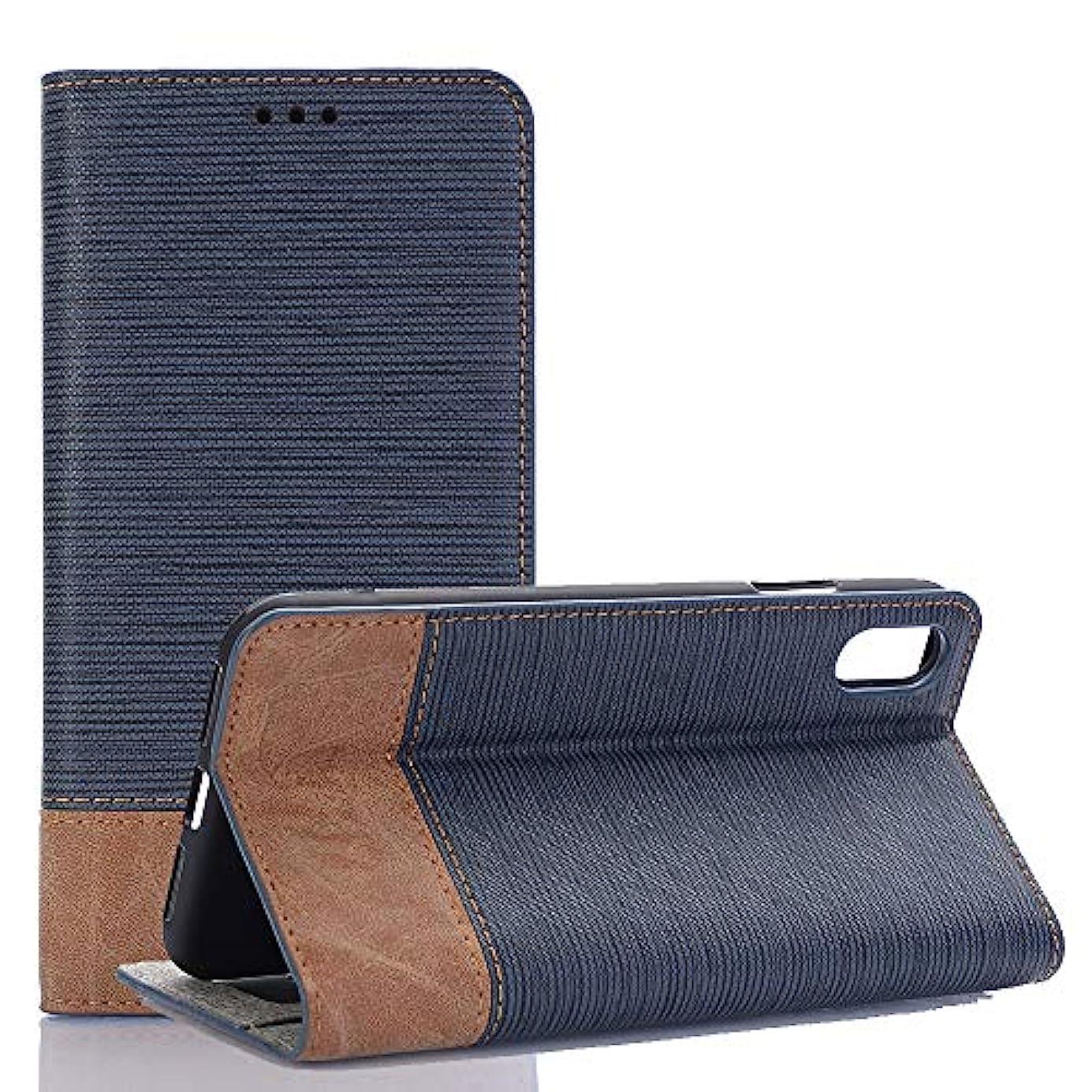 割り込み旅行者ブリーフケースGalaxy S9 ケース、INorton 本革ケース 全面保護 衝撃吸収 スタンド機能 カード収納 手帳型 スマートケース Galaxy S9対応