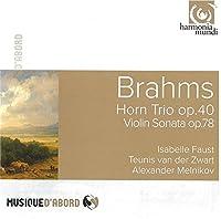 ブラームス:雨の歌、ホルン三重奏曲、幻想曲集