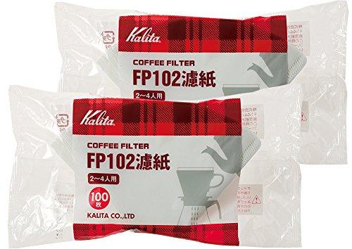 カリタ FP102濾紙(100枚入) 2-4人用 2箱セット