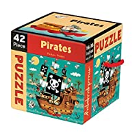 Mudpuppy Pirates 42 PC Puzzle [並行輸入品]