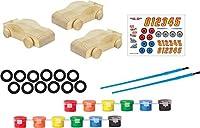 RoseArt RoseArt Wooden Speedway Racers Craft Kit Toy [並行輸入品]