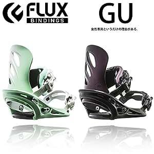 16-17 FLUX GU フラックス ビンディング バインディング 日本正規品 レディース (GU_GREEN, XS(22-24.5cm))