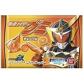 仮面ライダーグミ (オレンジ味) 10個入 BOX (食玩・キャンデー)