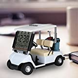 10L0L LCD表示ミニゴルフカート時計 ゴルフギフト ゴルファーファンのためのユニークなギフト 記念日の専用ギフト