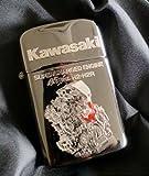カワサキ(KAWASAKI) カワサキ S/C (SUPERCHARGED (SUPERCHARGER)) エンジンライター RONSON製 オイルライター Ninja H2 J7003-0027