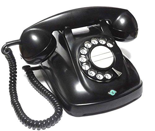 電電公社 4号A 自動式卓上電話機 (黒電話)