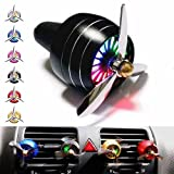 Fairbridge Car Freshener-Christmas Gift-Car Air Freshener - Car Fragrance-Funny Car Air Freshener - Diffuser Vent Clip Car Perfume Car freshener Vent Clip Car Vent Perfume Car Air Force(BLACK!!!) [並行輸入品]