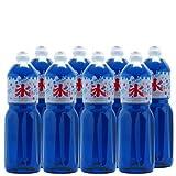 【業務用】 かき氷 (カキ氷) シロップ 【ブルーハワイ】 1.8L ペットボトル×8本 ( ケース販売)