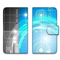 WHITENUTS LG G5 LG-H860N ケース 手帳型 UVプリント手帳 パターンA (wn-022) スマホケース エルジー ジーファイブ 手帳 カバー スマホカバー WN-PR547721_L