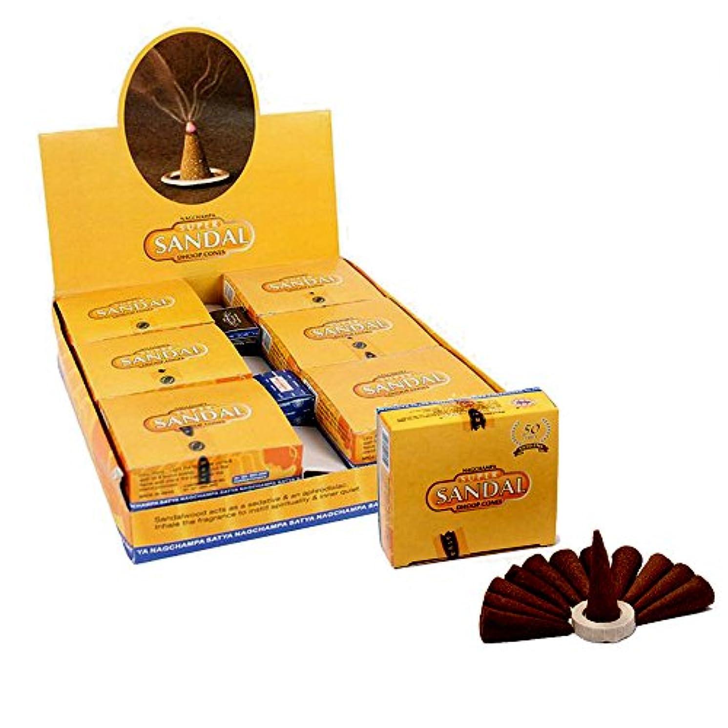 討論予報マーティフィールディングSatyaサンダルTemple Incense Cones、12 Cones in aパック、12パックin aボックス