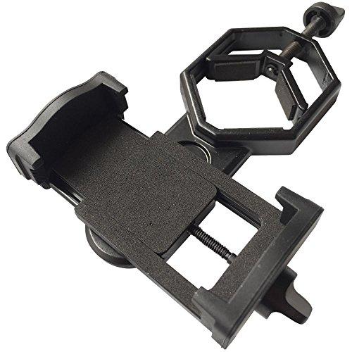 Rodinny poklad 望遠鏡 顕微鏡 スマホ アダプター マウント ホルダー カメラ で 撮影 できるiPhone EXPERIA Galaxy など サイズ 問わず 対応