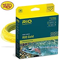 (Moss-Gold, WF4F) - Rio Gold Floating Fly Line