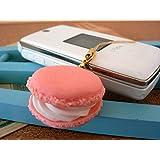 食品サンプル屋 食品サンプル 携帯ストラップマカロン ピンク 02P03Dec16