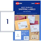 Avery Shipping Labels with Trueblock® for Laser Printers, 199.6 x 289.1 mm, 20 Labels (952007 / L7167)