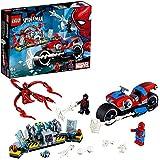 乐高(LEGO) 超级英雄 蜘蛛侠的摩托车舞蹈 76113