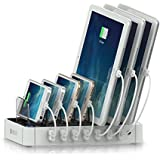 Satechi USB 充電ステーション 7 ポート iPhone iPad android 等各種 スマートフォン タブレット 対応 (白)