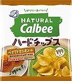 カルビー NaturalCalbeeハードチップス ベイクドオニオン味 40g×12袋