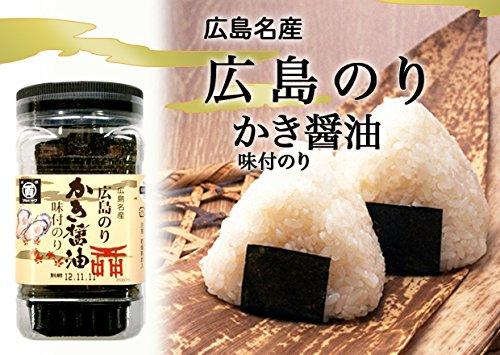 広島海苔 かき醤油味付のり 角54枚 20本セット