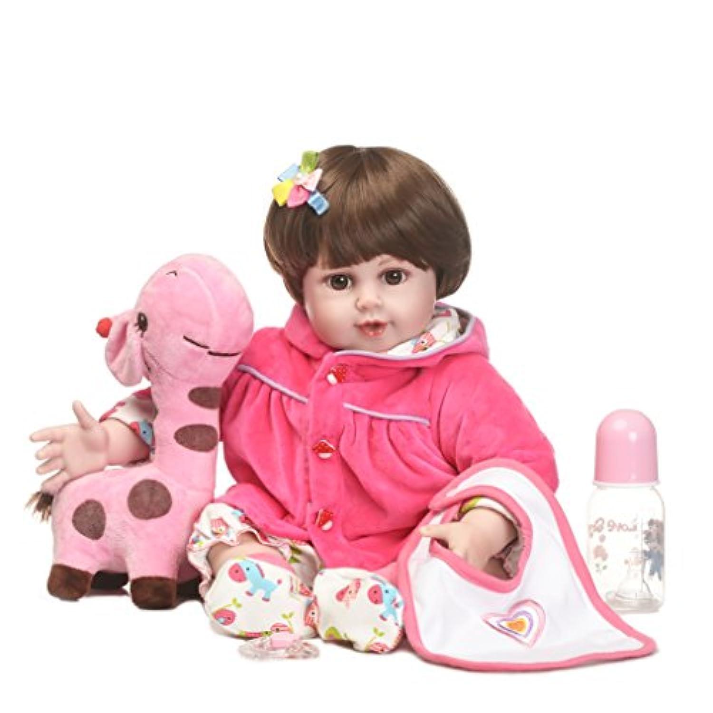 SanyDoll Rebornベビー人形ソフトSilicone 22インチ55 cm磁気Lovely Lifelike Cute Lovely Baby b0763lpz9 m
