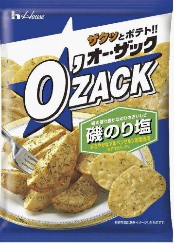 ハウス食品 オーザック磯のり塩 68g×12袋
