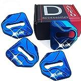 適用 スバル ステンレス ドア ストライカー カバー 錆防止 内装 パーツ 4個セット ブルー