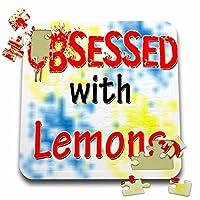 ブロンドDesigns Obsessed with–Obsessed withレモン–10x 10インチパズル( P。_ 241677_ 2)