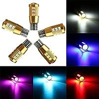 DADANGSH T10いいえエラーLEDサイドウェッジ電球読書灯501 194 168 W5W 30 4701 SMD LEDカーライト (Color : White)