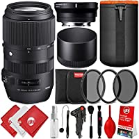 Sigma 100–400mm f / 5–6.3DG OS HSMレンズfor for Canon EF with MC - 11for Sony Eマウントアルファa7, a7r II、a7s、a7、a7III、a7r、a9、a6500、a6300, a6000, NEX 5NEX 7NEX 6、デジタルカメラ、