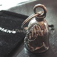 GUARDIAN Bell (Praying Hands) ガーディアンベル バイカーのお守り ベル キーホルダー