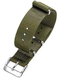 EMPIRE NYLON NATO ナイロン 時計 ベルト オリーブグリーン 18mm