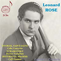 Cello Concertos / Sonatas / Rococo Vars - Leonard Rose (2CD) by Leonard Rose / Various Composers