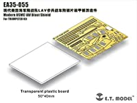現用アメリカ歩兵装甲車ブラストシールド(トランペッターキット対応)[EA35-055]Modern USMCLAV Blast Shield For Trumpeter Kit