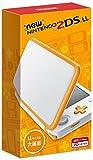 Newニンテンドー2DS LL 【ホワイト×オレンジ】 画像