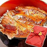 お中元 ギフト プレゼント うなぎグルメギフト 国産鰻(うなぎ)蒲焼 2枚 85~95g 風呂敷包み