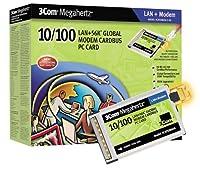 3Com 56K 10/100Mbps Dual Xjack Ethernet Global Modem Card [並行輸入品]